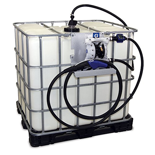 Graco SD Blue Pneumatic Diesel Exhaust Fluid (DEF) Tote Pump Package with Digital Meter and Auto Nozzle, 15 gpm Max Flow Rate (Diesel Exhaust Fluid Pump compare prices)