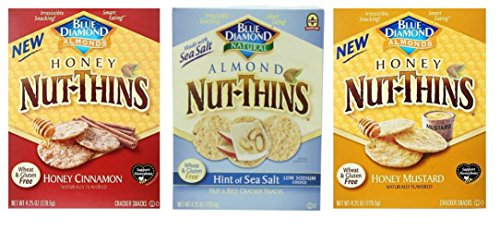 Honey Cinnamon Nut-Thins, (1) Hint Of Sea Salt Almond Nut-Thins ...