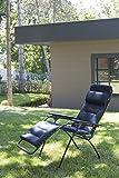 Lafuma-LFM3051-6135-gepolsteter-Relax-Liegestuhl-klappbar-und-verstellbar-Futura-Air-Comfort-schwarz