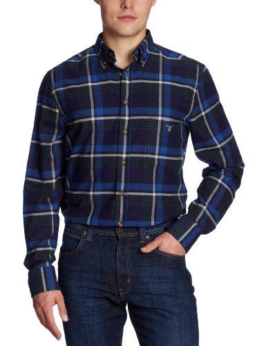 Gant 397670 Mens Casual Shirt Ocean Blue Small