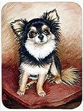 Chihuahua poil Long Tapis de souris et dessous-de-plat, manique MH1035MP