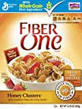 Fiber One Honey Clusters, 14.25-Ounce Boxes (Pack of 6) Amazon Frustration-Free