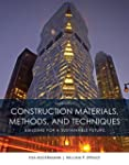 Construction Materials, Methods and T...