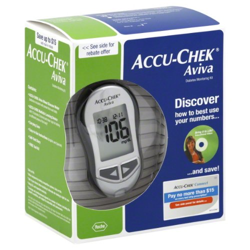 Accu-chek Aviva Diabetes Monitoring Kit – Meter System (New Design)