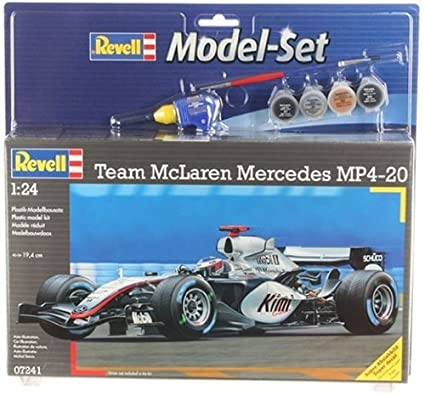 Revell - Maquette - Modèle Mclaren-Mercedes Mp4-2 - Echelle 1:24
