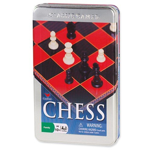 Cardinal Games 58312 Chess Set in a Tin New