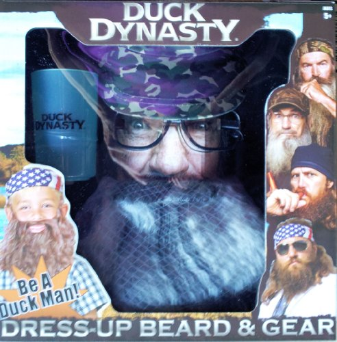 Duck Boys Dynasty Dress Up Costume Beard Set