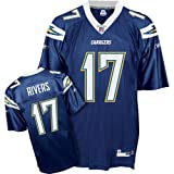Reebok Philip Rivers San Diego Chargers Replica NFL Jersey