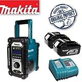 MAKITA BMR104 DAB Job Site Radio Plus BL1830 18.0V 3.0Ah Lithium-ion Battery Plus DC18RA 14.4-18V Lithium-ion Battery Charger 240V