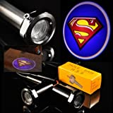 Ghost Shadow Laser Projector Logo Cree LED Step Door Courtesy Light Bulbs - Superman