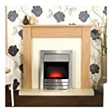 Adam Colorado Electric Fire - Southwold Electric Fireplace Suite - Chrome