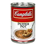Campbell's Pepper Pot Soup, 10.5-Ounce Cans (Pack of 12)