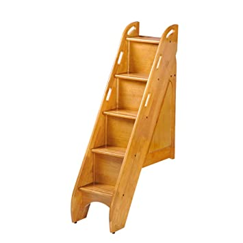 Night And Day Furniture Bunk Bed Storage Stairs Use Only With Cinnamon Twin Over Twin And Full Over Full Medium Oak