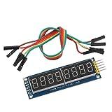 【ノーブランド品】ニキシー管 LED ディスプレイ チューブ モジュール ドライブ 595 8桁