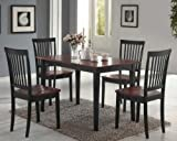 Oakdale 5-Pc Casual Dining Set (Cherry)