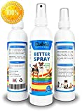 Dalvia Pet Care - Bitter Spray For Dogs - Anti Chew Dog Repellent Spray & Dog Training Tool to Stop Biting - Non-Toxic, Alcohol Free & Safe Chewing Deterrent. Use on Dog Allergy Treatment (8oz/240ml)