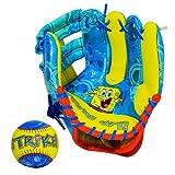 Nickelodeon SpongeBob Squarepants AIR TECH Baseball Glove and Ball Set