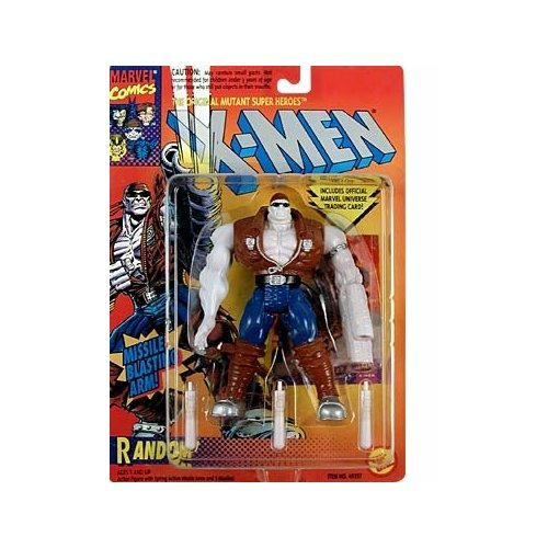 Random Action Figure - 1994 - X-Men Mutant Super Heroes - Spring Action Missile Arms & 3 Missiles - Trading Card - Limited Edition - Collectible - 1