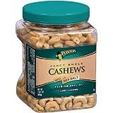 Planters Fancy Whole Cashews with Sea Salt - 33 oz