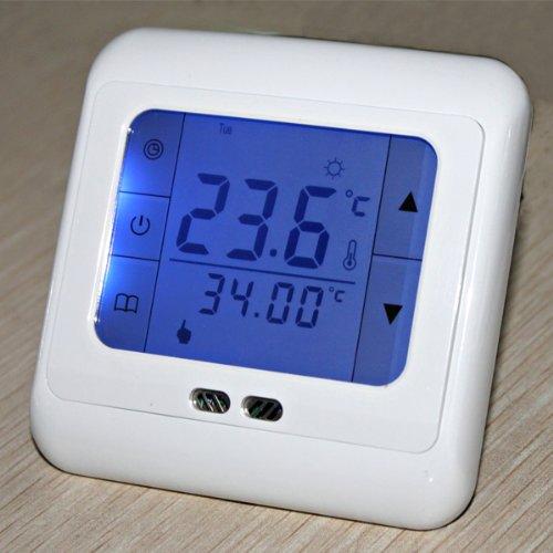 Termostato para calefacción con pantalla táctil