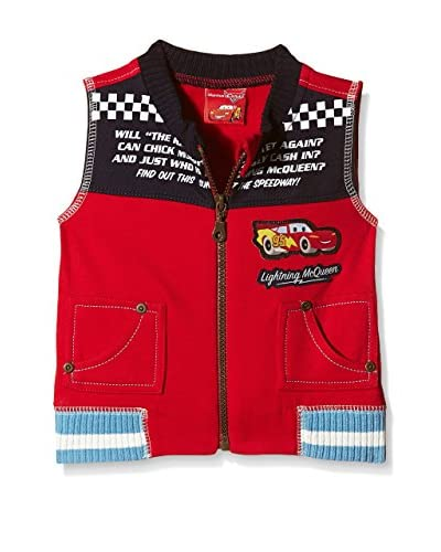 Fantasia Chaleco Cars Toddler Rojo