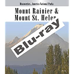 Discoveries...America National Parks: Mount Rainier & Mount St. Helens [Blu-ray]