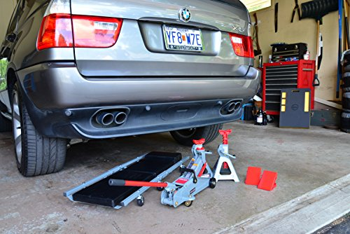 Pro lift f 2332jsc grey black 6 piece garage in a box for Piece auto garage