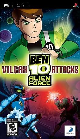 Ben 10 Alien Force: Vilgax Attacks - Sony PSP