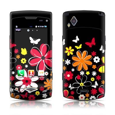 Laurie's Garden Design Protective Skin Decal Sticker for Samsung Wave S8500 Cell Phone