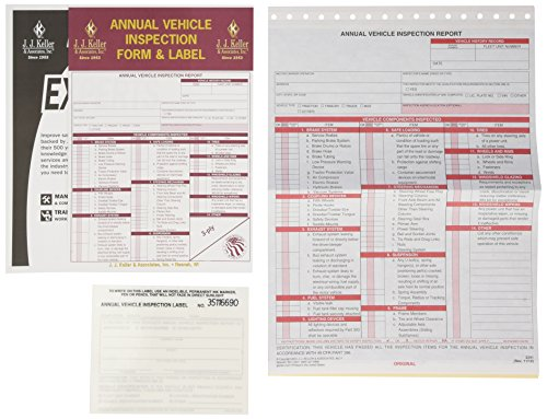 jj-keller-471-annual-vehicle-inspection-report-and-label