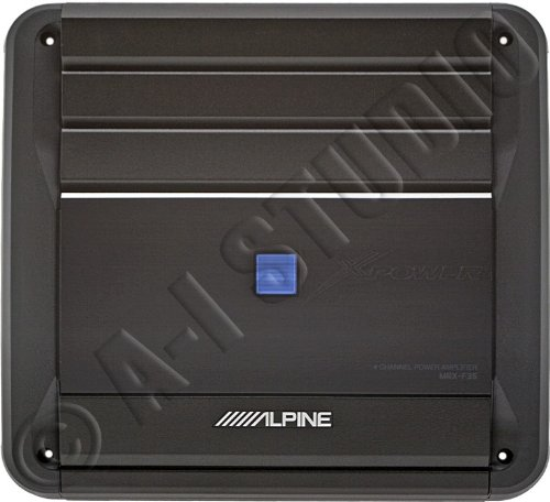 Mrx-F35 - Alpine 4-Channel X-Power Series Amplifier