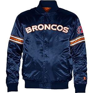 Denver Broncos Youth Starter Satin Jacket by Genuine Stuff