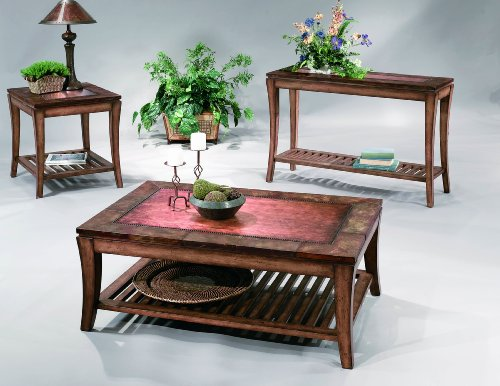 Buy Low Price Bassett Mirror Company Sun Valley Rectangular Coffee Table  Set (B004LOVFDC)