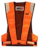 MKR Lite Fluoreszierend Warnschutz Motorradjacke Weste