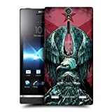 Head Case Tribute Metal Chevron Snap-on Back Case Cover For Sony Xperia S Lt26i