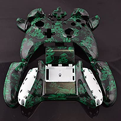eSeeking Xbox One Skin Whole Body Vinyl Sticker Decal Cover for Microsoft Xbox One Console and Two Controllers Fluorescent Square