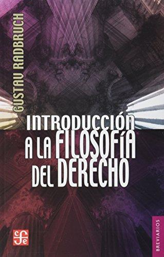 INTRODUCCION A LA FILOSOFIA DEL DERECHO