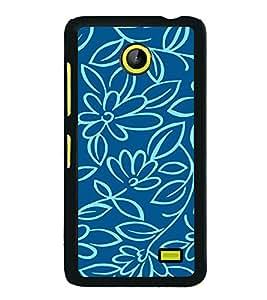 Flowers Wallpaper 2D Hard Polycarbonate Designer Back Case Cover for Nokia X :: Nokia Normandy :: Nokia A110 :: Nokia X Dual SIM RM-980 with dual-SIM card slots
