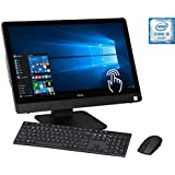 "Dell Inspiron All In One 23.8"" FHD Touchscreen Flagship Premium High Performance Desktop Computer, Intel Quad Core I5-6400T 12GB RAM 1TB HDD DVD WIFI Bluetooth Wireless Keyboard + Mouse Windows 10"