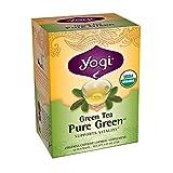 Yogi Teas Pure Green Tea Bags, 16 Count