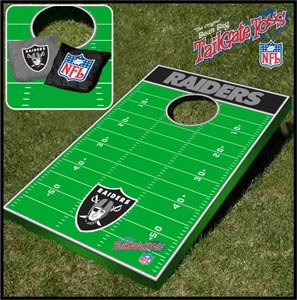 Wild Sales Oakland Raiders Tailgate Toss Bean Bag Game by Wild Sports