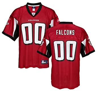 Atlanta Falcons NFL Mens Team Replica Jersey, Red by Reebok