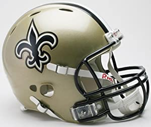 Riddell New Orleans Saints Revolution Authentic Pro Helmet Authentic by Riddell
