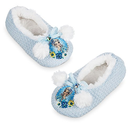 Disney Girls Elsa House Slippers 9/10 Youth (Elsa House compare prices)