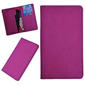 DSR Pu Leather case cover for Lava Xolo B700 (pink)