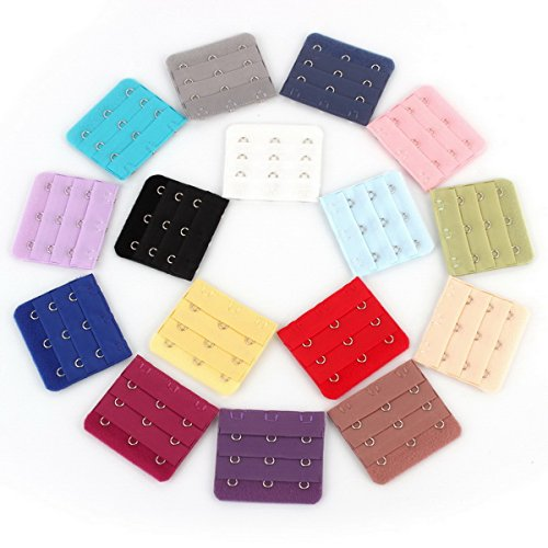 tanzkyr-16-pcs-assorted-colors-womens-3-hook-spacing-bra-extender-strap