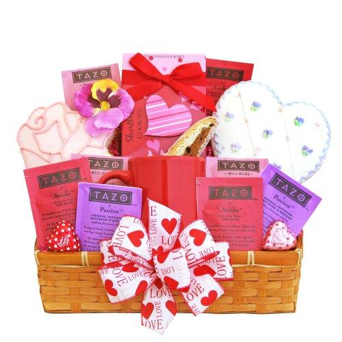 California Delicious Valentine Cookie Gift Basket