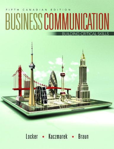Business Communication with Connect Access Card: Building Critical Skills