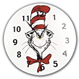 Trend Lab 30067 Circular Wall Clock- Dr. Seuss Cat In The Hat