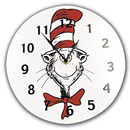Trend Lab Dr. Seuss Wall Clock, Cat In The Hat